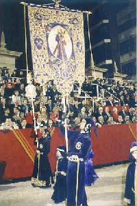 Cortejo y bandera
