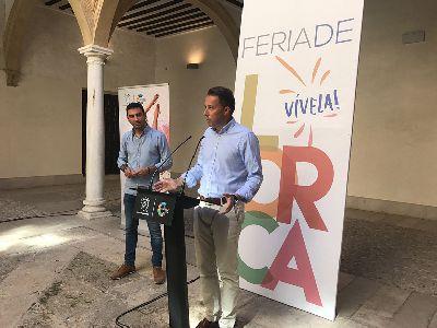 40 conciertos, humor y actividades especiales para niños y mayores brillan en el programa de la Feria y Fiestas de Lorca 2017 que se celebrará del 15 al 24 de septiembre