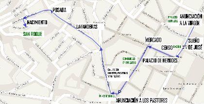 El Casco Histórico de Lorca acoge este domingo el primer Belén Viviente Itinerante desde el Palacio de Guevara hasta el Museo del Belén de la Ermita de San Roque