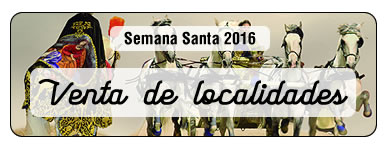 Semana Santa 2016. Venta de localidades