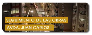 Seguimiento de las obras de Avda. Juan Carlos I
