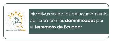 actos solidarios con el pueblo Ecuador