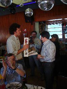 Los Alcaldes de Lorca y Embalses (Argentina) junto al Cónsul de España en Córdoba, presiden un almuerzo de hermandad con la Casa de Murcia en Córdoba
