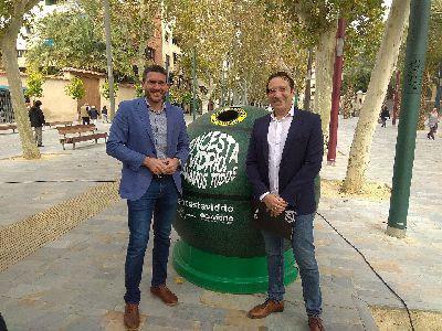 Lorca compite con 11 municipios en la campaña ''Encesta vidrio, ganamos todos'' de Ecovidrio para fomentar el reciclaje a través del deporte