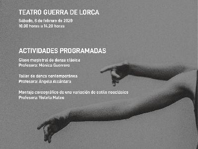 El Teatro Guerra acogerá, este sábado, el proyecto ''Actividades formativas de danza clásica, neoclásica y contemporánea''