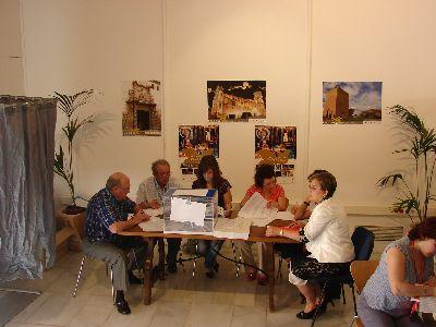 Constituidas con total normalidad las 106 mesas electorales de Lorca