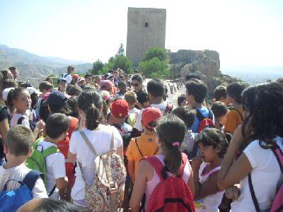 Lorca Taller del Tiempo organiza una ruta especial para que las familias conozcan el legado judío y medieval de la Fortaleza del Sol