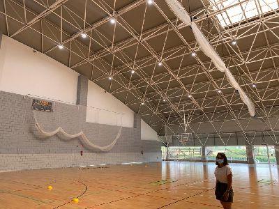 La Concejalía de Deportes apuesta por la eficiencia energética con iluminación LED en las instalaciones deportivas