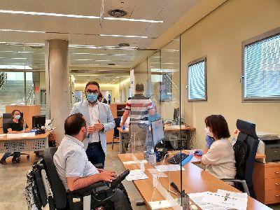 El alcalde de Lorca pide a la Comunidad que implante la obligatoriedad de la mascarilla para impedir nuevos rebrotes