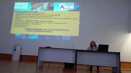 Lorca se convierte en ejemplo de reconstrucción tras una tragedia natural en la I Jornada Internacional de Sensibilización frente al Riesgo Sísmico organizada por la Universidad de Alicante en Elche