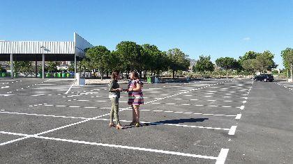 El Ayuntamiento mejora estéticamente el Huerto de la Rueda, ordenando su tráfico interior y estableciendo 200 nuevas plazas de aparcamiento