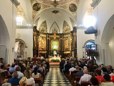 La Misa Mayor en honor a la Virgen de las Huertas de mañana, 8 de septiembre, podrá seguirse a través de televisión
