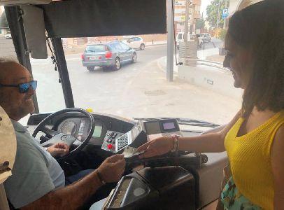 El Ayuntamiento de Lorca cuelga en su página web las normas para el correcto uso del transporte urbano de la ciudad