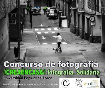 La Universidad Popular organiza el Concurso de Fotografía 'Crea en Casa'