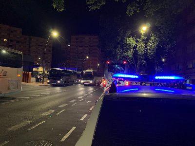 El Ayuntamiento de Lorca insistirá en la vigilancia para el uso obligatorio de mascarillas en el transporte colectivo