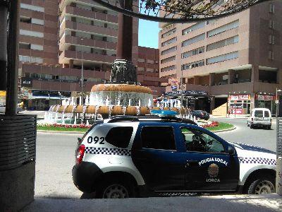La Policía Local de Lorca desarticula un punto de venta de drogas al menudeo y detiene a dos personas tras un operativo desarrollado durante varias semanas
