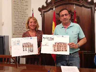 La ''Casa del León'', con tres estrellas y 36 habitaciones, será el primer hotel del casco histórico de Lorca