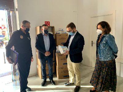 El Ayuntamiento entregará 12.000 mascarillas entre los trabajadores agrarios recibidas de parte del Gobierno de España