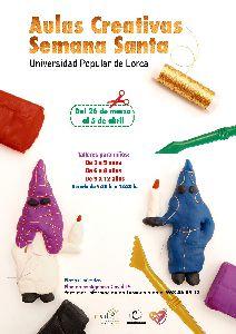 La Universidad Popular pone en marcha una nueva edición del programa ''Aulas Creativas de Semana Santa''