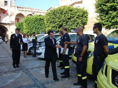 400 personas velarán por la seguridad durante la celebración de la Feria y Fiestas de Lorca que este año contará con dos líneas de autobuses gratuitas para ir al Huerto de la Rueda