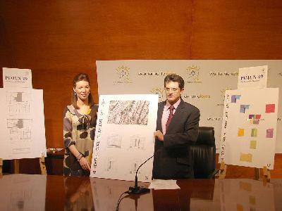 El Alcalde de Lorca y la Concejal de ONG´s presentan la construcción de un Centro Social Polivalente para los vecinos y colectivos del Barrio de San José