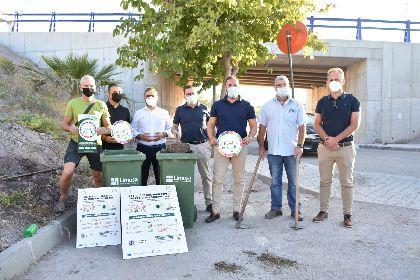 Los aledaños del IES San Juan Bosco serán repoblados gracias al compostaje de biorresiduos recogidos en el municipio
