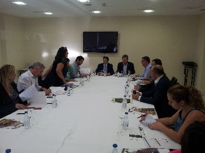 El Alcalde preside la Agenda Multisectorial para coordinar con los agentes del sector turístico y hostelero la celebración de los diferentes eventos de los próximos meses en Lorca