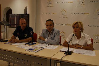 Los visitantes de la Feria de Lorca dispondrán de 7.400 plazas de aparcamiento en 23 zonas de la ciudad