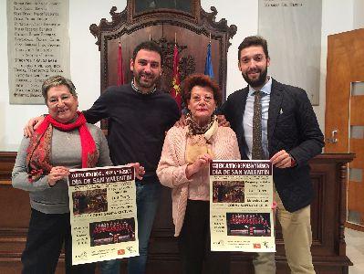 Luis Terry, Mercedes Luján y la Coral Santa Cecilia protagonizan la Gala de San Valentín que las Amas de Casa celebrarán el 14 de febrero en el Centro Cultural