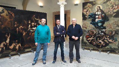 El Palacio de Guevara acogerá el jueves una conferencia – mesa redonda sobre la reciente restauración de tres lienzos del pintor barroco Camacho Felizes