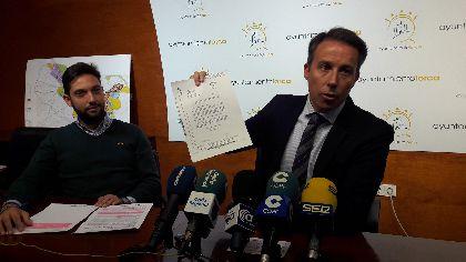 Lorca consigue más de 4,2 millones de euros procedentes de los proyectos desarrollados en el municipio gracias a la buena gestión en los fondos Feder del programa 2007-2013