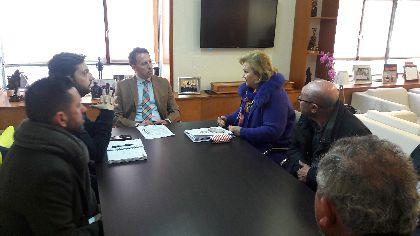 La Virgen de las Huertas, Patrona de Lorca, estrenará un nuevo manto diseñado y bordado en los talleres municipales con motivo del Tiempo Jubilar el próximo 17 de marzo