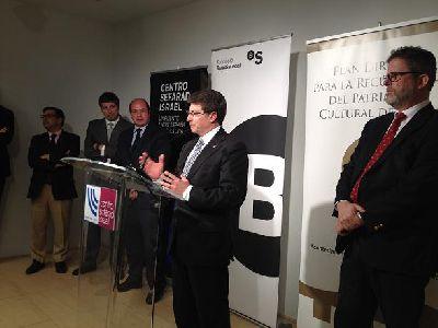El Centro Sefarad-Israel de Madrid muestra desde hoy y hasta el 31 de mayo la exposición ''Luces de Sefard'' sobre el patrimonio judío de Lorca del siglo XV