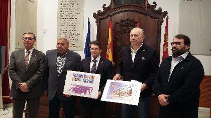 Correos emite un sello dedicado a la Semana Santa de Lorca con olor a incienso