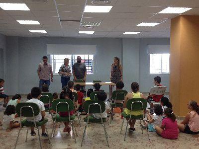 El Ayuntamiento de Lorca pone en marcha cinco escuelas de verano para 100 menores con las que se ayuda a conciliar