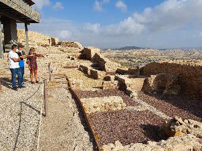 El Ayuntamiento de Lorca recepciona los trabajos de restauración del Parque Arqueológico del Castillo