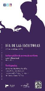El Ayuntamiento conmemora la V edición del Día de la Escritoras con la lectura de versos de cuatro poetisas lorquinas