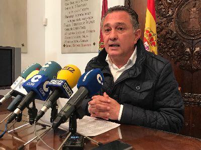 El Ayuntamiento recibe la autorización definitiva del Gobierno Regional para la ejecución de nuevas inversiones en pedanías por un importe total de 191.932,89 euros