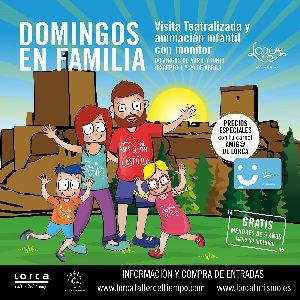El Taller del Tiempo anima a disfrutar de ''Domingos en familia en el Castillo de Lorca'', una nueva iniciativa para aprovechar el fin de semana en la Fortaleza del Sol
