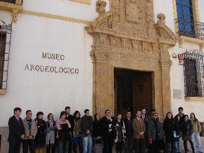 Medina abre hoy en el Museo Arqueológico de Lorca el V Simposio de Jóvenes Medievalistas, que se celebrará hasta el viernes con 16 investigadores