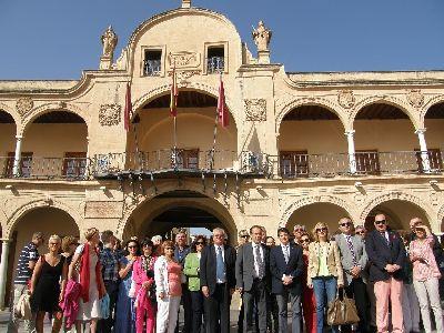 El Alcalde de Lorca recibe al de Mouguio Carnon para estrechar el hermanamiento entre las dos ciudades