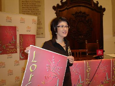 Rosa Medina, presenta la programación del Carnaval 2.008