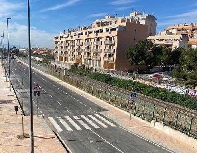 El Ayuntamiento de Lorca abre al tráfico el nuevo vial que conecta la Alameda de Cervantes con el Camino Marín
