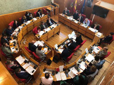 El Ayuntamiento de Lorca emite una declaración institucional para conmemorar el 41 aniversario de la Constitución Española