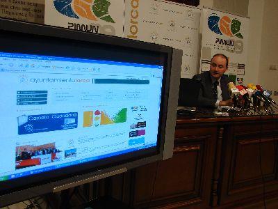 El portal web municipal presenta su nuevo diseño más accesible, con versión para móvil, oficina virtual y DNIe