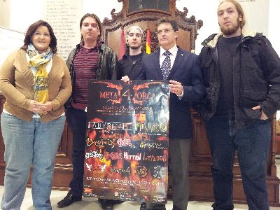 Bandas heavy de Argentina, Italia, España participan este año en el ''Metal Lorca'', que se celebrará el día 30 de noviembre en el recinto ferial de Santa Quiteria