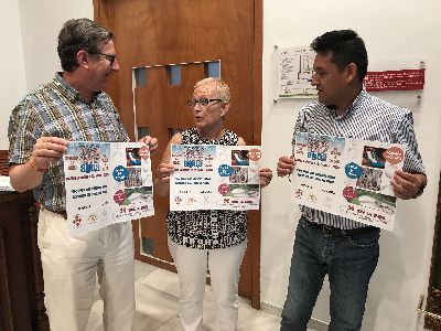 La Asociación Nuevos Lorquinos y los vecinos del barrio Alfonso X realizarán el próximo 24 de junio la ''Fiesta del Agua Infantil'' como colofón al final de curso