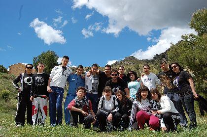 Jóvenes lorquinos participaron el pasado fin de semana en el primer curso de formación sobre ocio alternativo nocturno