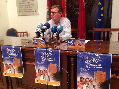 El número de entradas vendidas por Lorca Taller del Tiempo en Julio crece un 26% respecto al año pasado