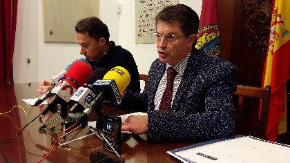 La lucha de la Concejalía de Hacienda contra el fraude fiscal recupera 5,8 millones de euros para los lorquinos en un año, un 132% más que en el año y medio anterior